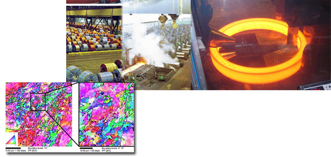 Processes and thermomechanical treatment of steel